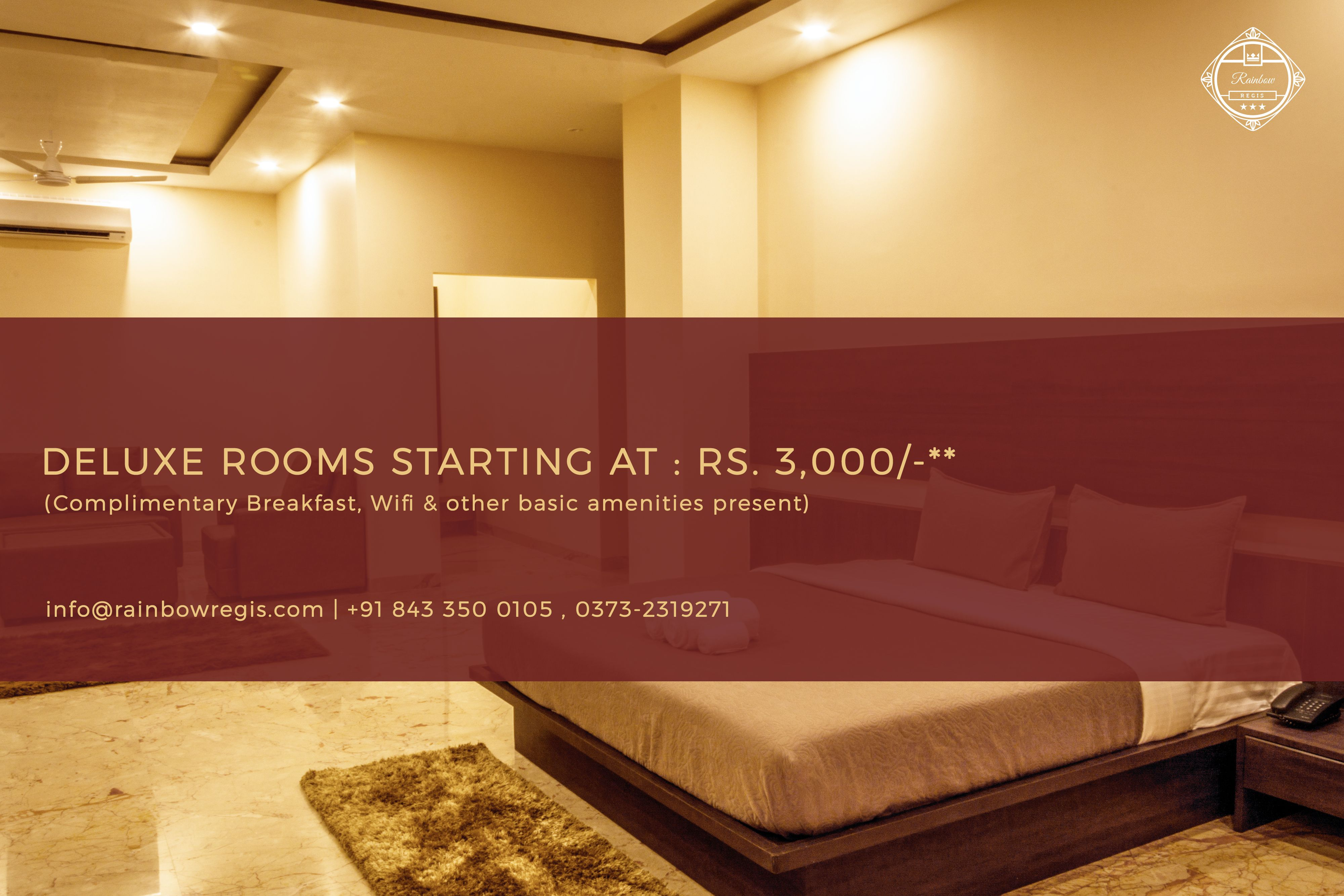 Deluxe Rooms Starting At Rs 3 000 Complimentary Breakfast Wifi Other Basic Amenities Present Hotel Budget Hotel Book A Hotel Room