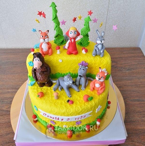 торт маша рецепт с фото пошагово видео наблюдение