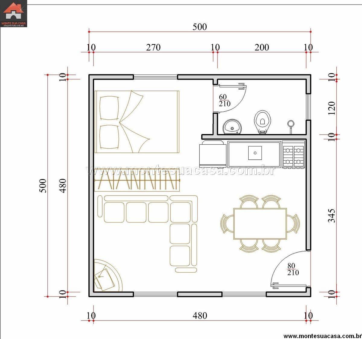 Projetos de casas de campo com 3 quartos pesquisa google - Casas pequenas de campo ...