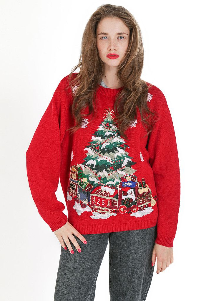 Sweater: http://retrock.com/products/red-christmas-sweater