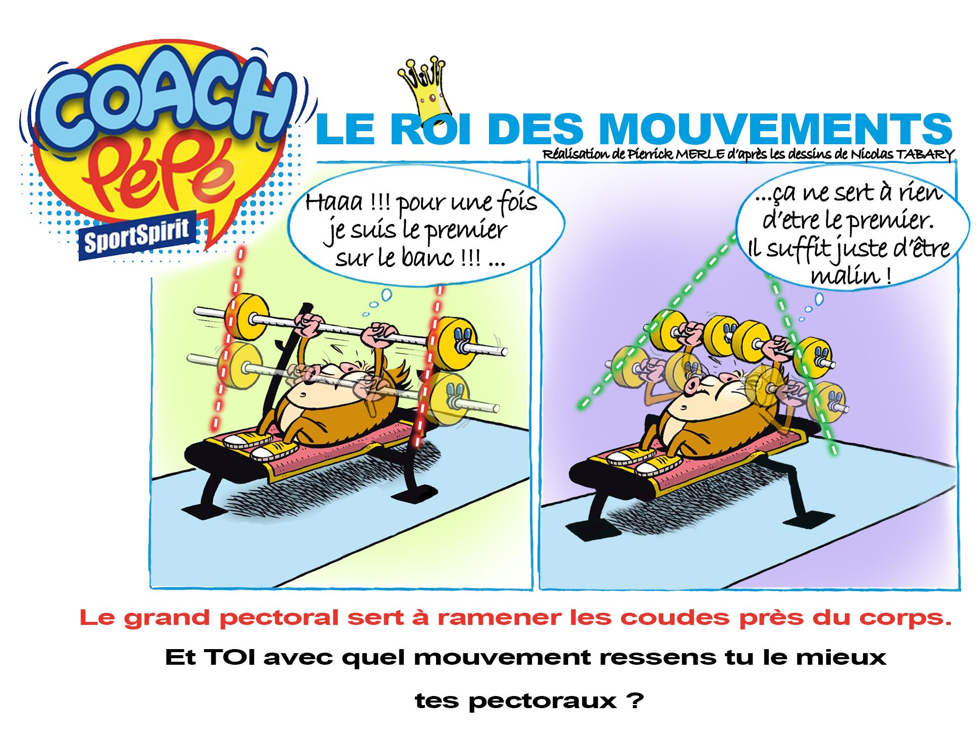 Bd Musculation 11 Commandements Coach Sportif Bande Dessinée