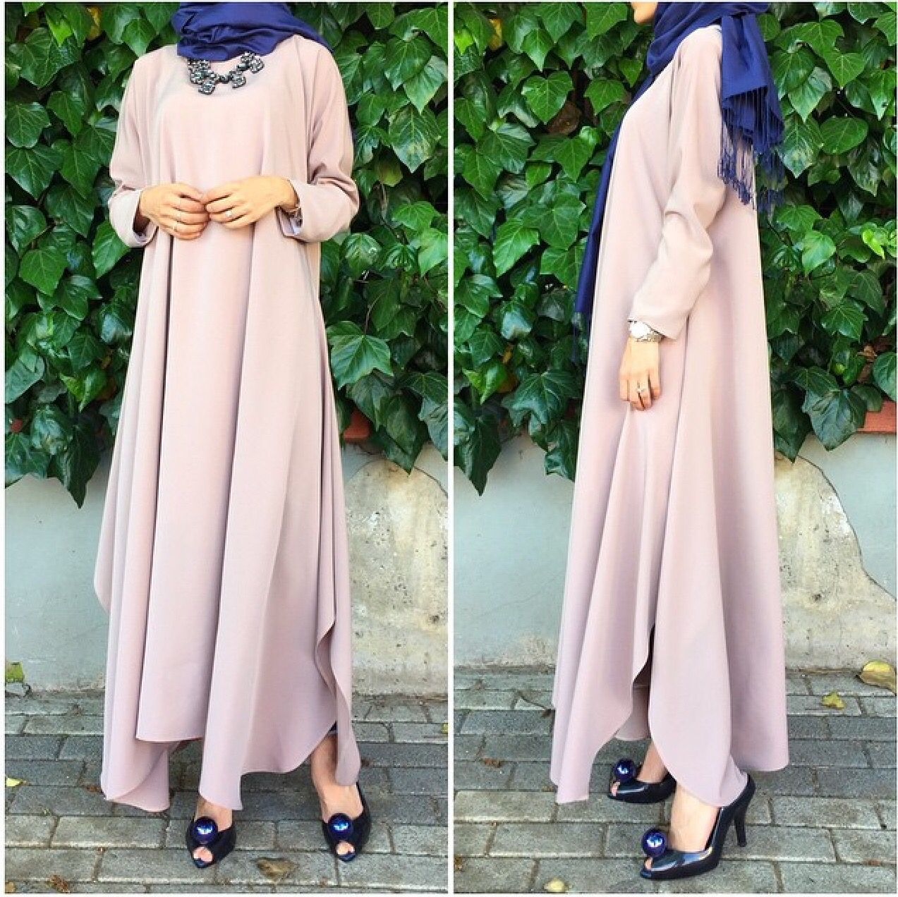 Pin By Iffah Fathin On Style: Hijab Fashion, Duster Coat, Fashion