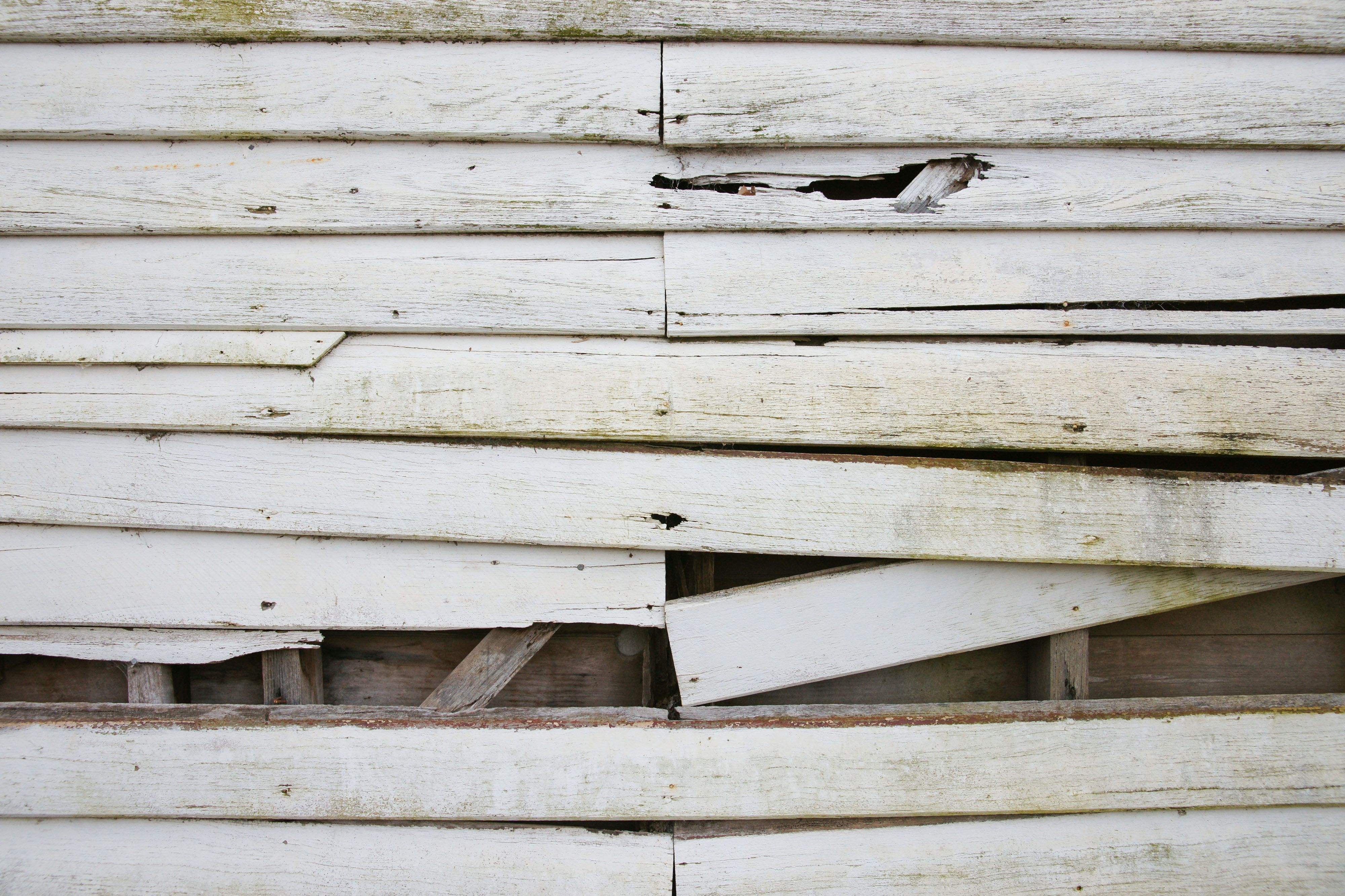Old White Weatherboard Wooden Plank Wall Http Www