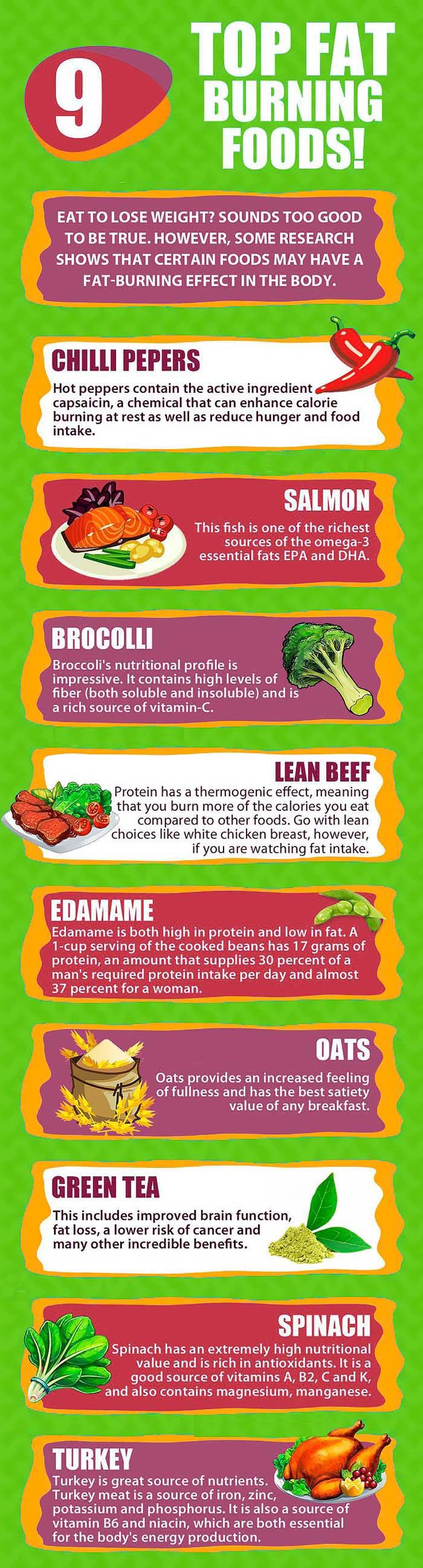 What is fat burning foods