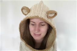 Ravelry: Crochet Hooded Cowl Tutorial pattern by bobwilson123