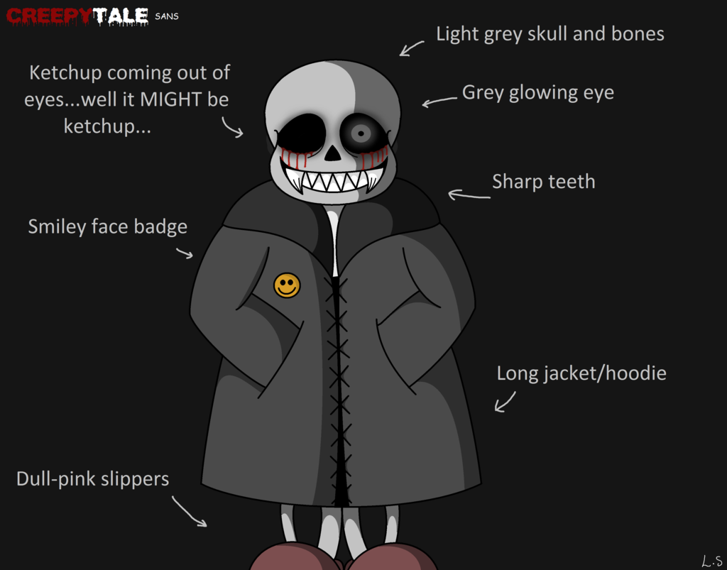 Creepytale Sans By Lalaex Da0wjw2 Png 1024 803