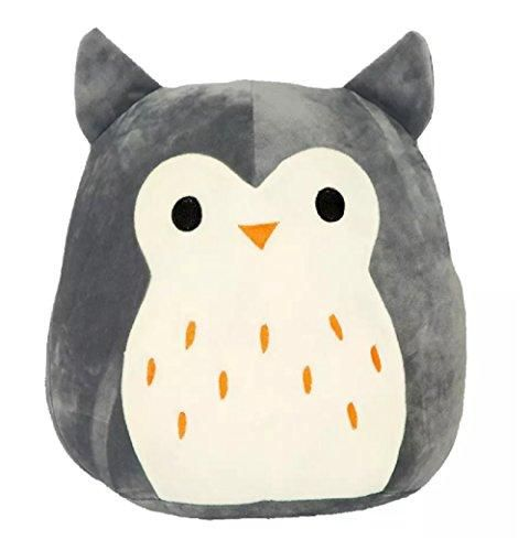 "Buy Squishmallow Hoot The Owl Stuffed Animal, 16"", Grey Online at Low Prices in USA"