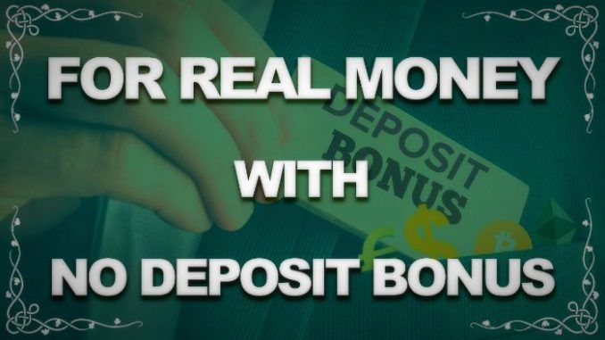 Real Money Games No Deposit