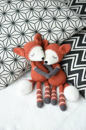 Mystique the Fox - pdf pattern | Pinterest | Amigurumi, Fuchs und Häkeln