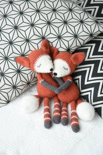 Mystique The Fox Amigurumi Crochet Patterns Designed By Häkeln