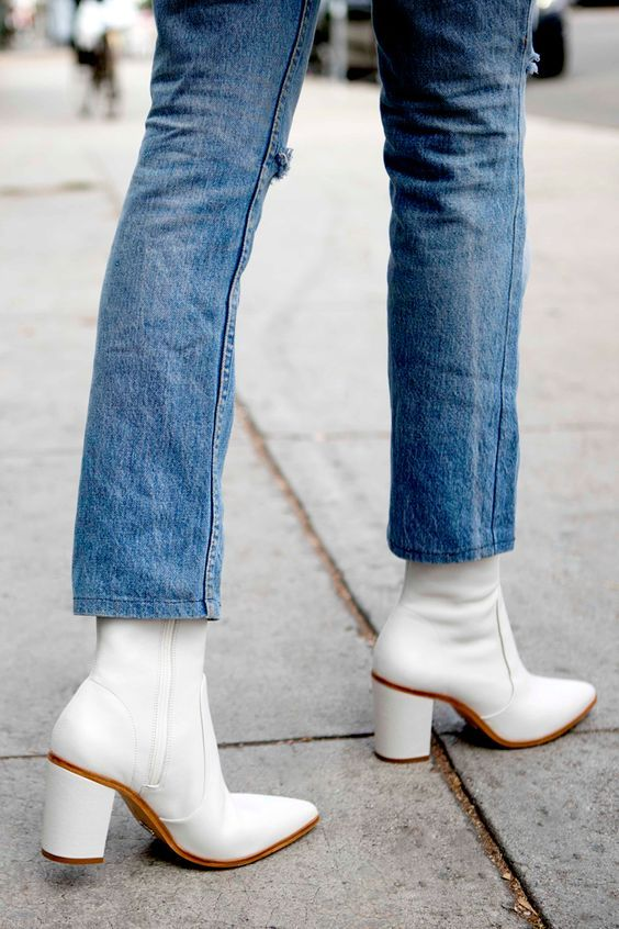 2059004e792 The white boot trend is the latest output in a long line of brave fashion