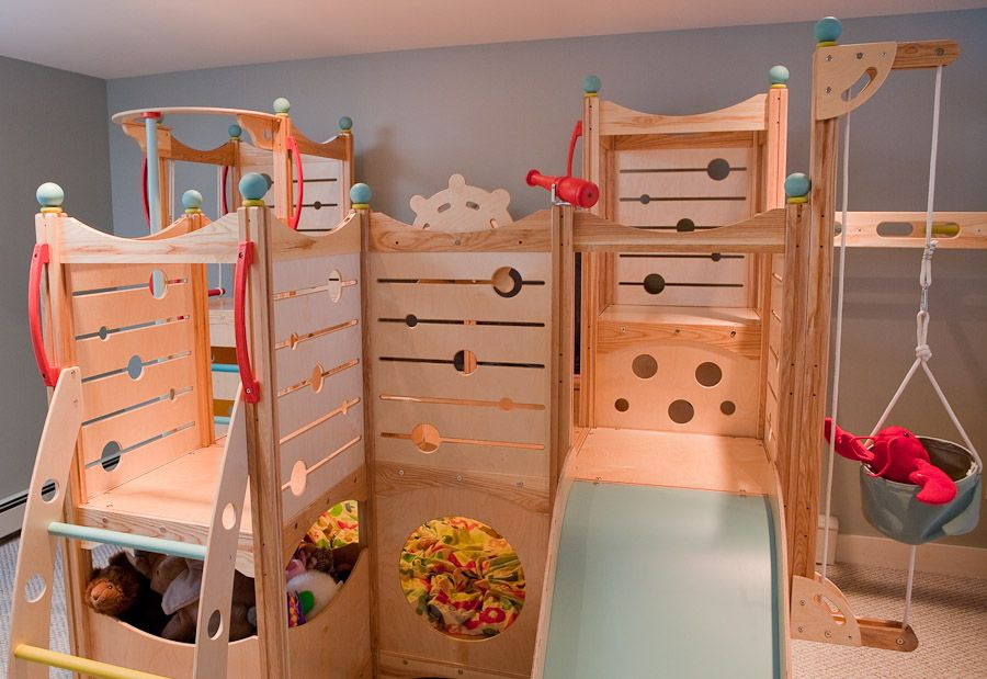 Awesome Rhapsody 8 Indoor Playsets And Playbeds | CedarWorks Amazing Ideas