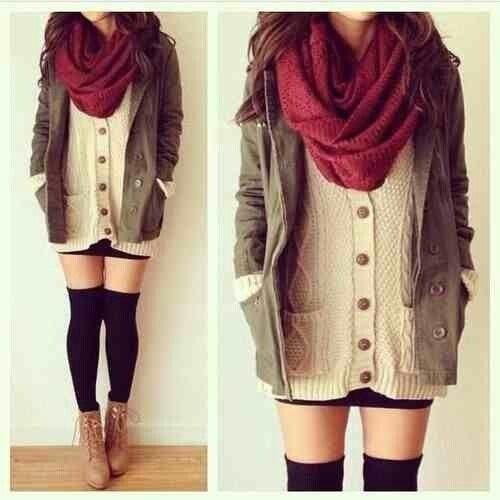 December fashion ❤️