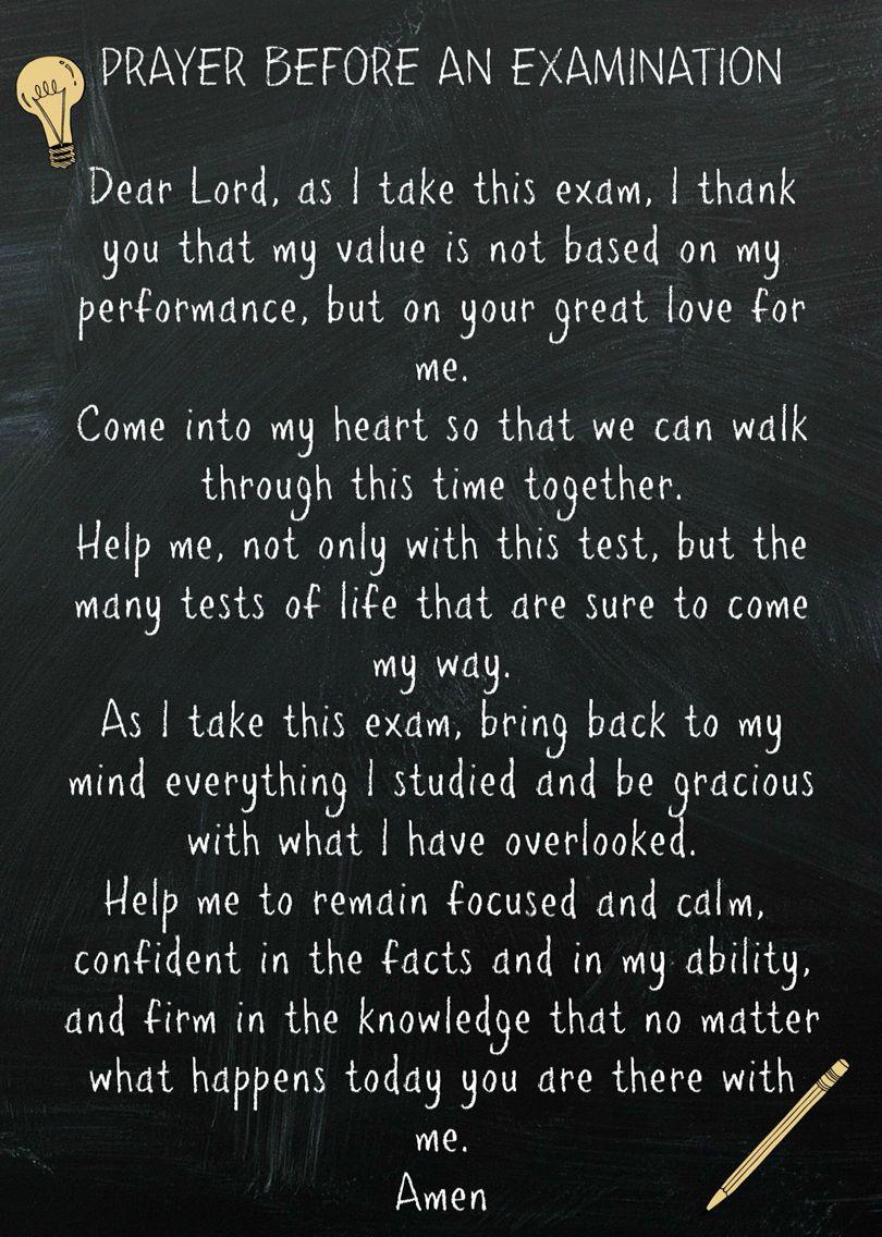 exam finals test prayer quote faith final test exam finals test prayer quote