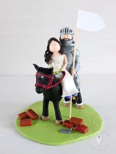 Hochzeitstortenfiguren gamer