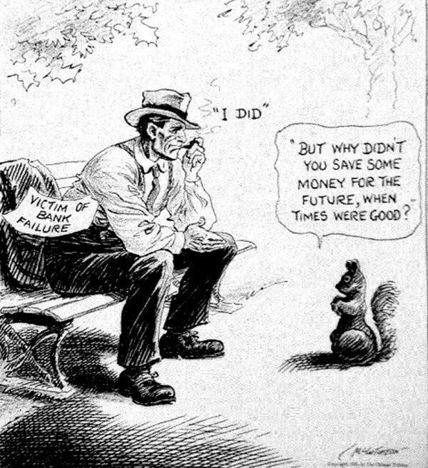 Great Depression Political Cartoon