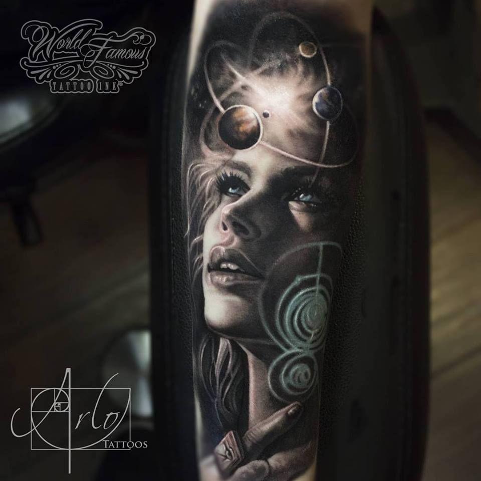 97 Jaw Dropping Henna Tattoo Ideas That You Gotta See: Solar System Tattoo, Tattoos Gallery