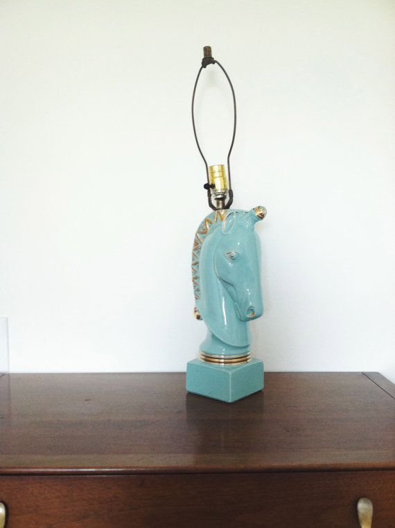 Your Place To Buy And Sell All Things Handmade Unicorn Lamp Blue Lamp Retro Lighting
