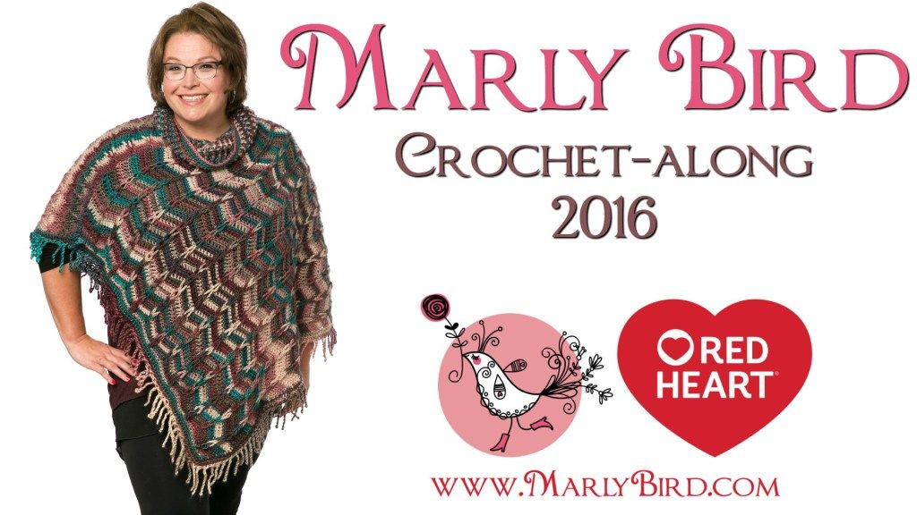 Marly Bird Poncho Crochet-along | Pinterest
