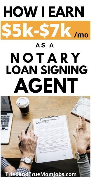 How I earn thousands as a Notary Loan Signing Agen