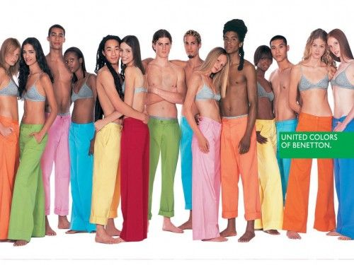 acuerdo Certificado Guerrero  campagnes de pub united colors of benetton : Les Chroniques de Sonia |  Style année 90, Idées de mode, Vêtements colorés