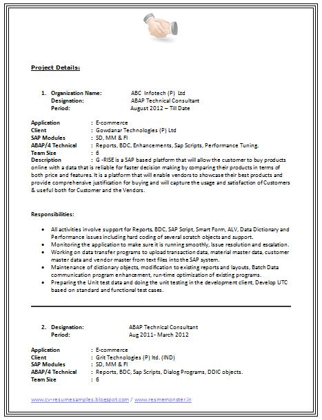 B Tech Resume Format Page 2 Resume Format Resume Tips Resume
