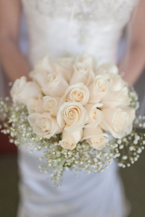 dress, beautiful, and bouquet image