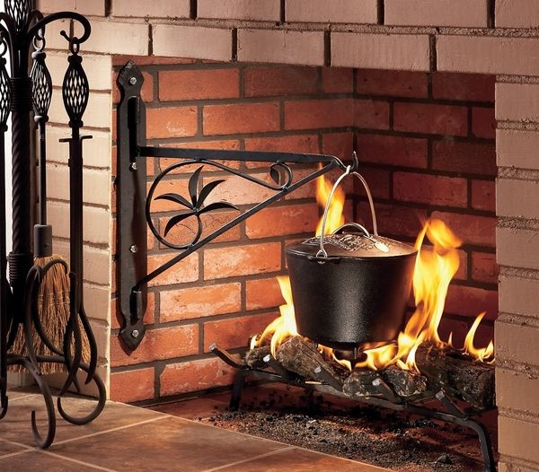 Fireplace cooking insert google search fireplace for Rumford fireplace insert