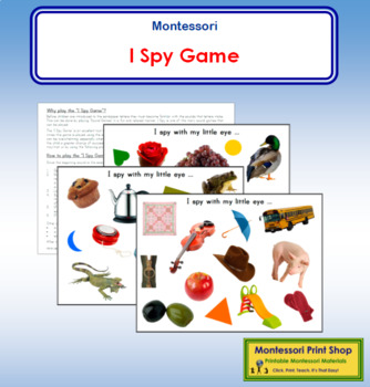 I Spy Sound Game Phonics in 2020 (With images) I spy