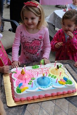 Simple Princess Birthday Party For A 3 Year Old Princes Were Also In Attendance