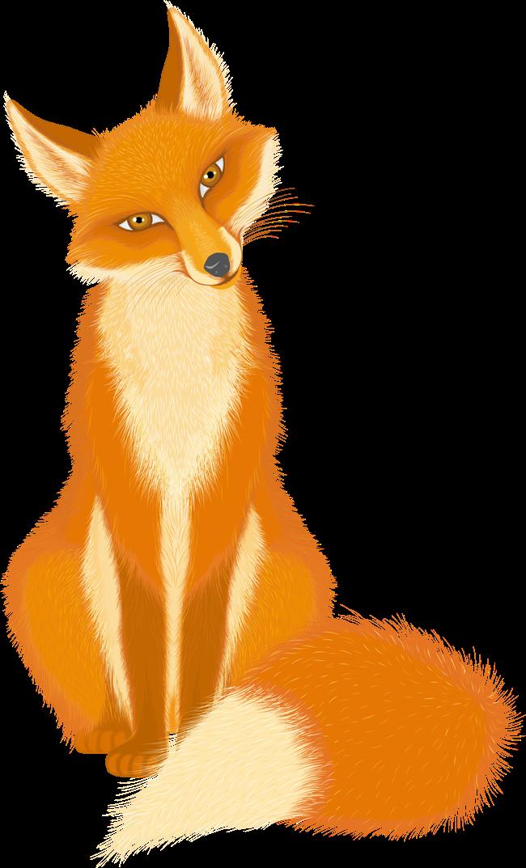 Картинки для детей рисованные лиса