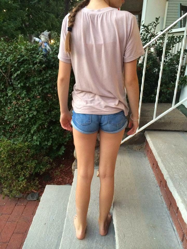 Nice young girl ass