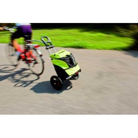 Przyczepka Bagazowa Rowerowa Bellelli B Tourist Zielono Czarna Bicycle Bag Bicycle Toy Car