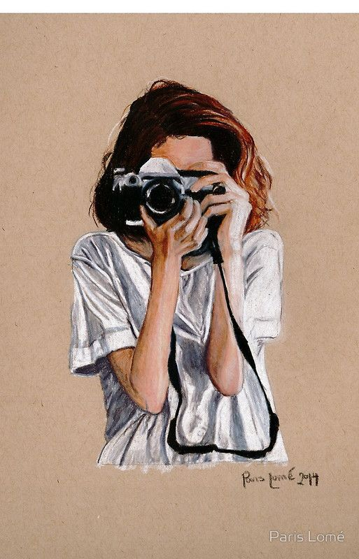 Photo of 'The Photographer' iPhone Case by Paris Lomé