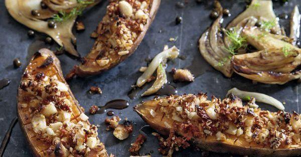 Was kommt denn da aus dem Ofen? Herrlich knusprige Süßkartoffeln, die bei den Gästen für Begeisterung sorgen werden.