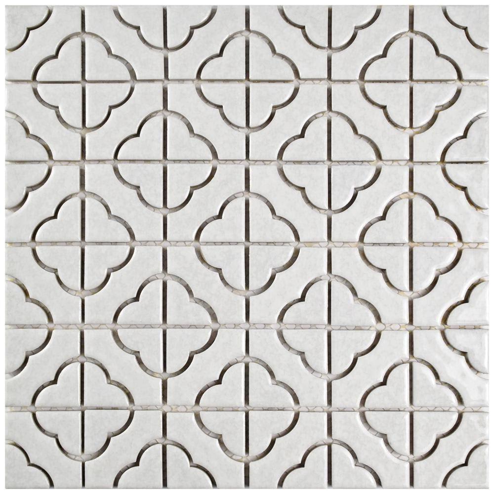 The Best Tiles At Home Depot For Your Kitchen And Bath Porcelain Mosaic Mosaic Tiles Porcelain Mosaic Tile