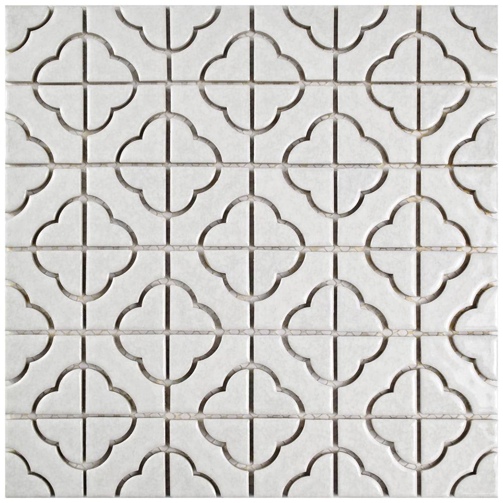 The Best Tiles At Home Depot For Your Kitchen And Bath Porcelain Mosaic Mosaic Tiles Porcelain Mosaic Tile