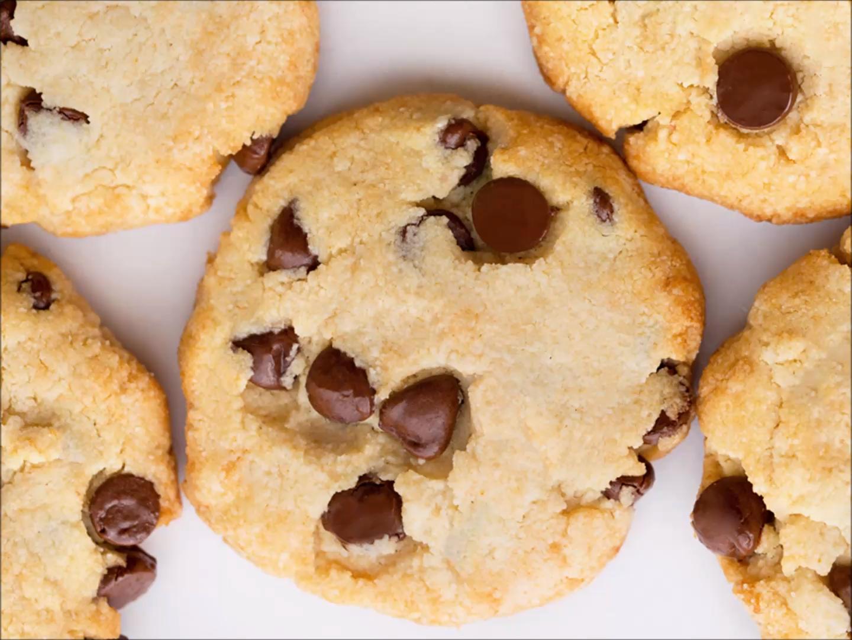 Keto Chocolate Chip Cookies Recipe #ketocookierecipes
