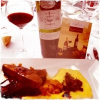 Great food and wine pairing : magret de canard & pomerol