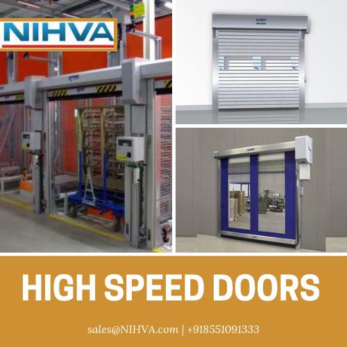 Nihva Is The Pioneer In Offering Intelligent Innovative Solution Of High Speed Door Rapid Doors Rapid Ac Sectional Door High Speed Locker Storage
