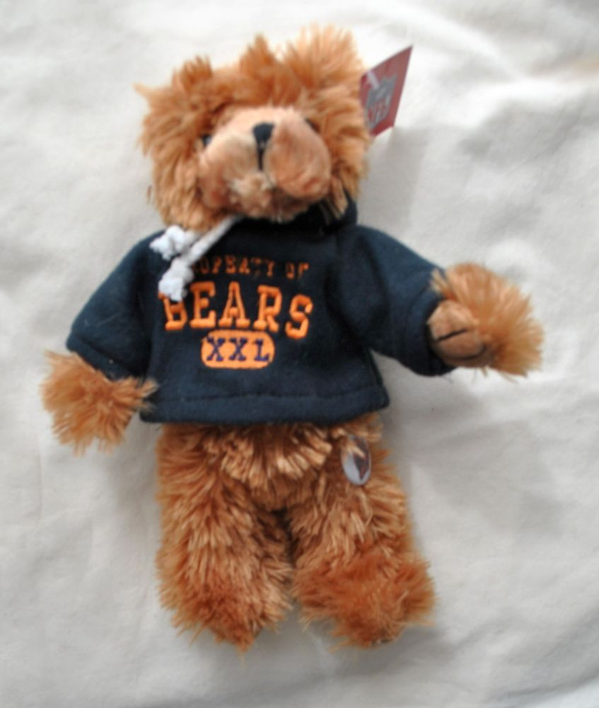 89e518fa932 CHICAGO BEARS football TEDDY BEAR stuffed animal plush 8
