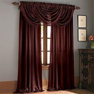 Chris Madden Royal Velvet Hilton Curtain Panel Assorted