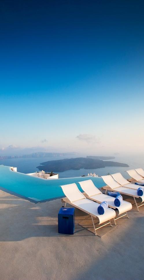 Santorini , Greece. From tommybeautypro.files.wordpress.com