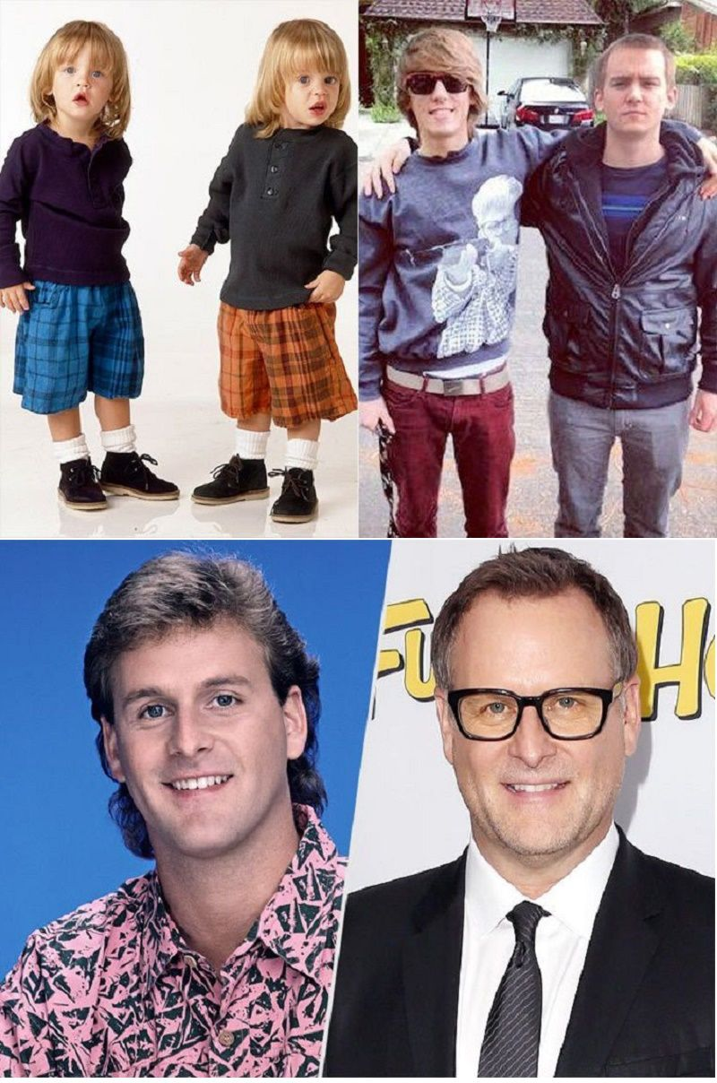 Full House Cast Then And Now After 24 Years Com Imagens Tres E