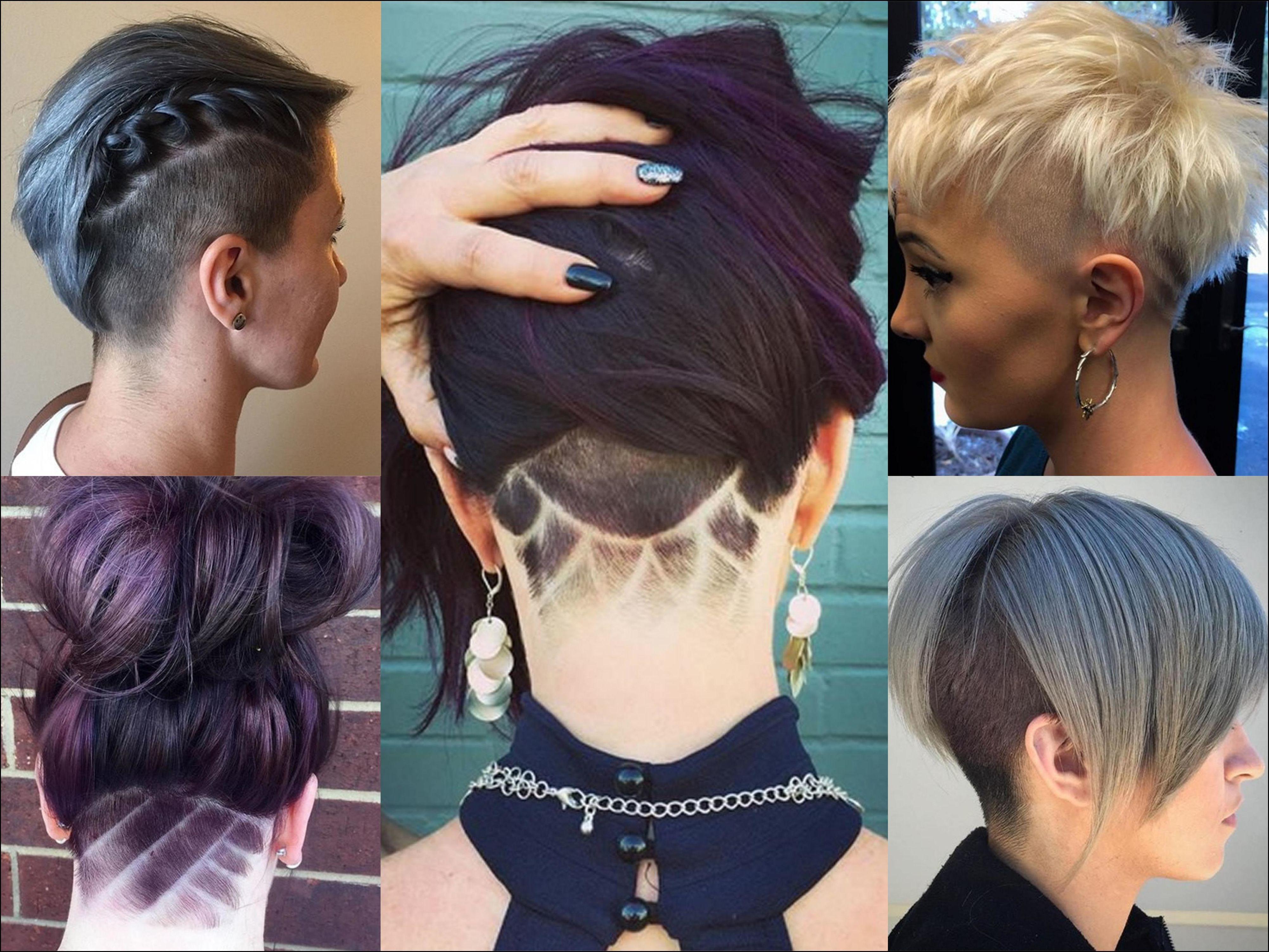 Undercut Frisuren Für Frauen 2018 2019 Frisuren Stil Haar Haare