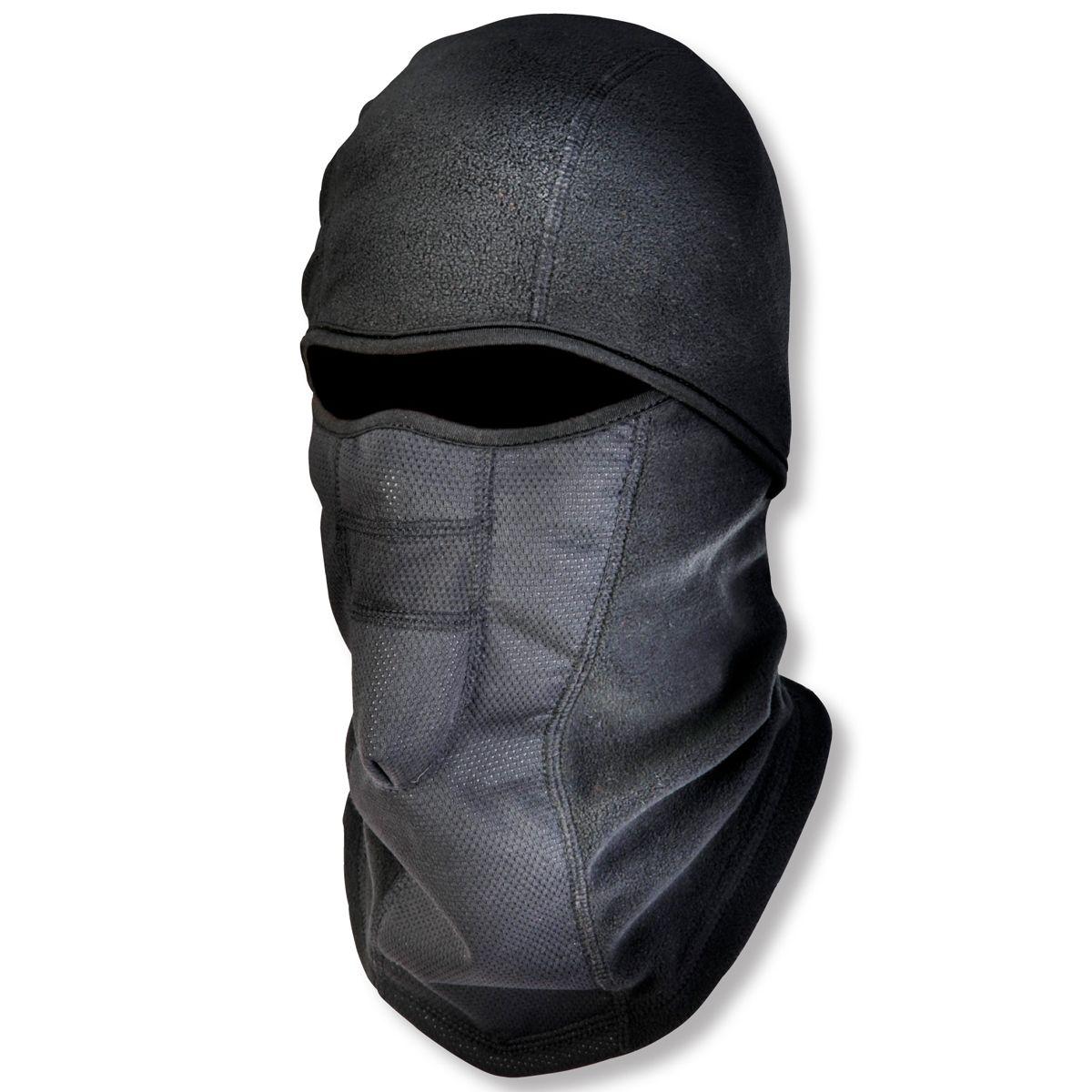 Ergodyne N Ferno 6823 Wind Proof Hinged Balaclava Black Winter Face Mask Ski Mask Outfit Accessories