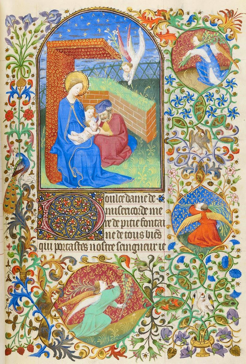 Holy Family | Book of Hours | France, Paris | ca. 1425-1430 | The Morgan Library & Museum
