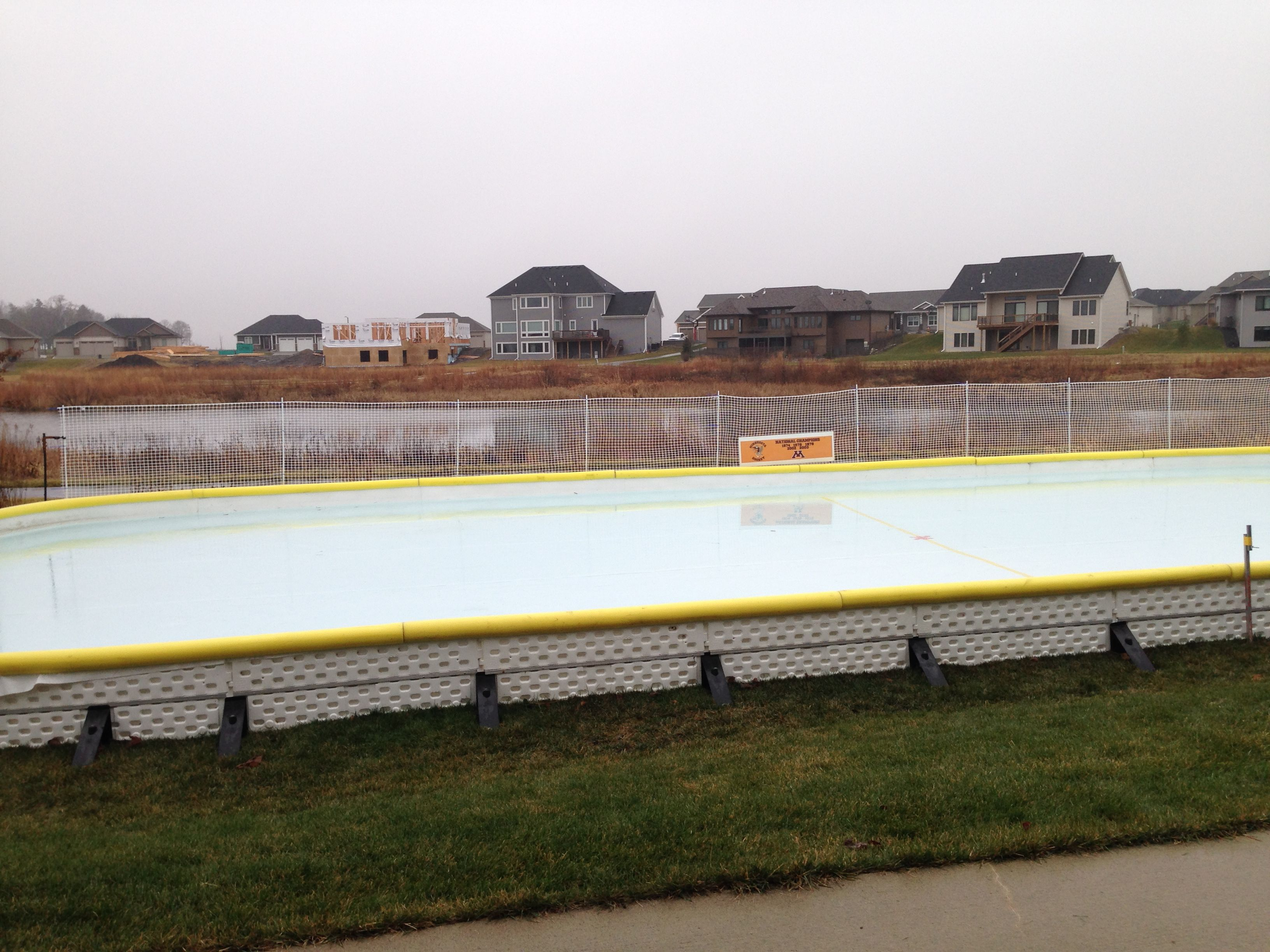 this could be in your backyard backyard ice rinks pinterest