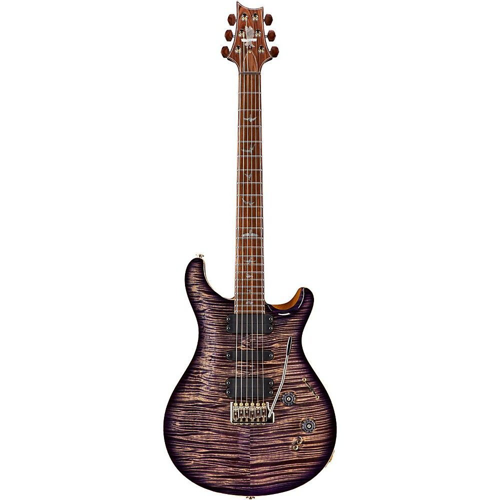 PRS Private Stock 509 Curly Maple Top and Neck Electric Guitar Imperial Purple Smoked Burst