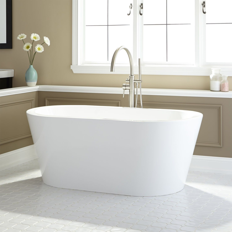 leith acrylic freestanding tub  freestanding tub tubs and  - leith acrylic freestanding tub